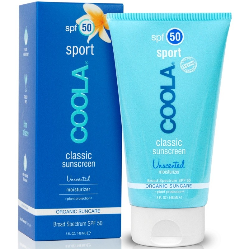 Coola Classic Sport Sunscreen Unscented SPF50