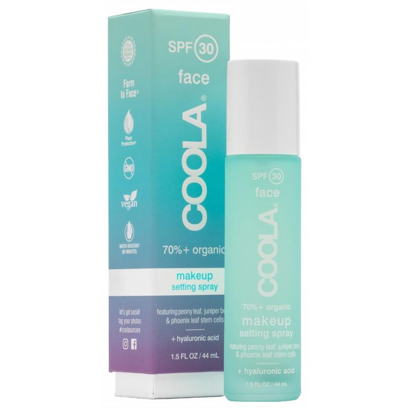 Coola Face Makeup Sunscreen Setting Spray SPF30