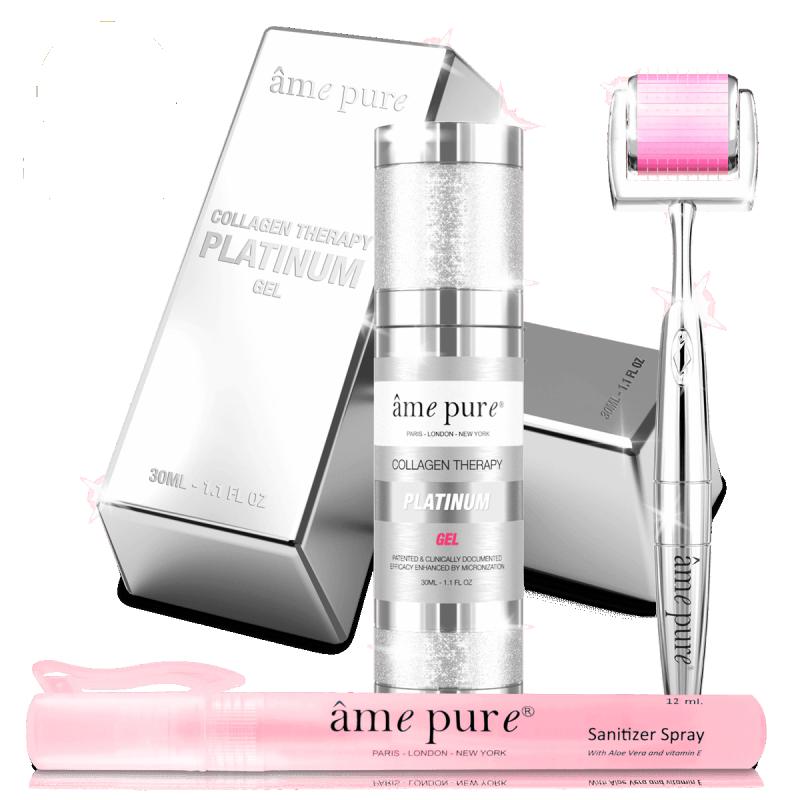 Ame Pure CIT Face Roller Platinum Kit
