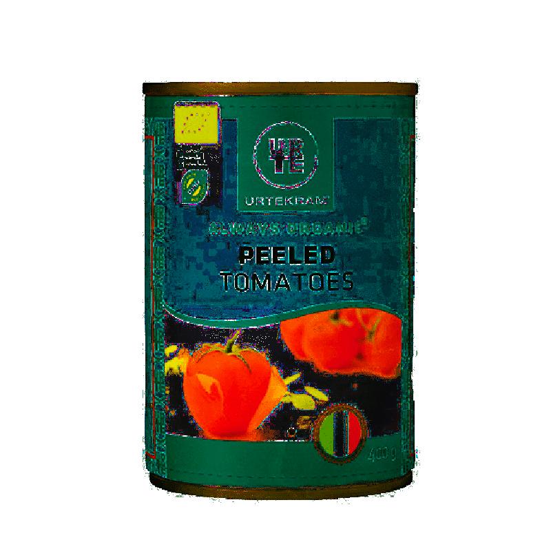 Urtekram Kuoritut tomaatit Luomu