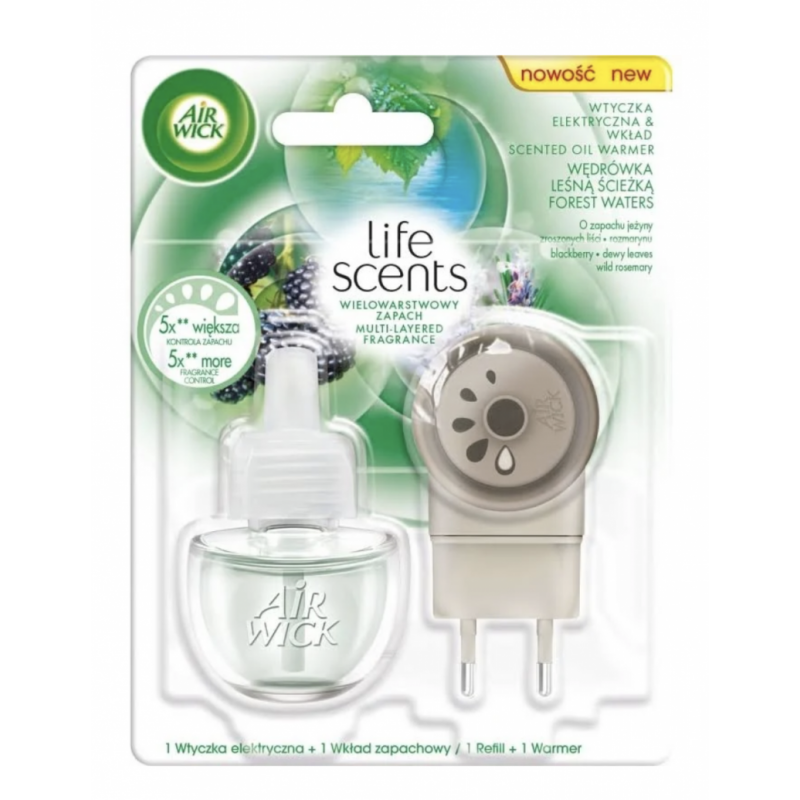 Air Wick Life Scents Electric Plug & Refill Forest Waters