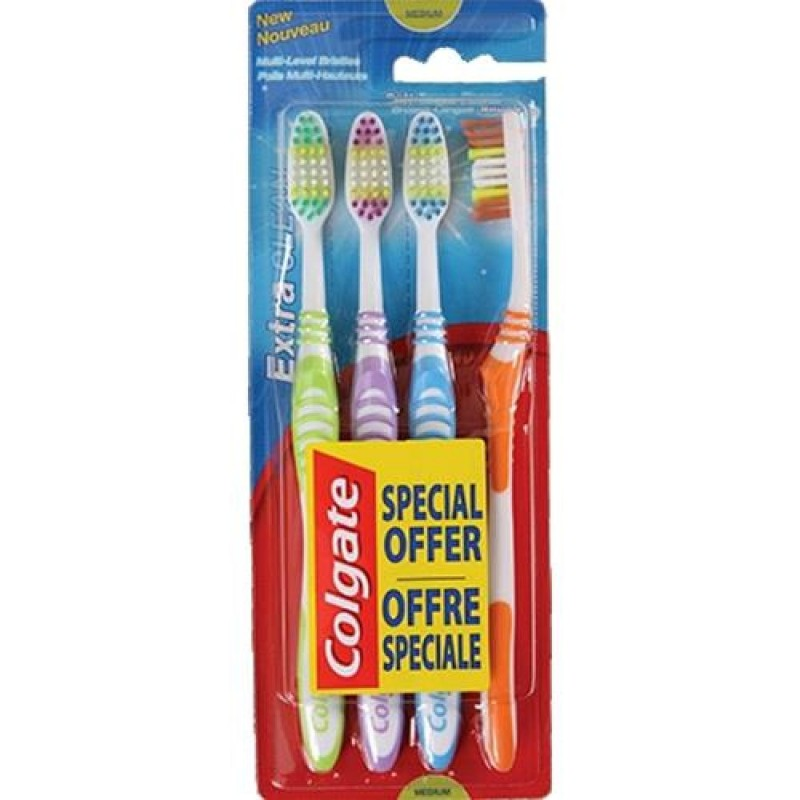 Colgate Extra Clean Toothbrush Medium