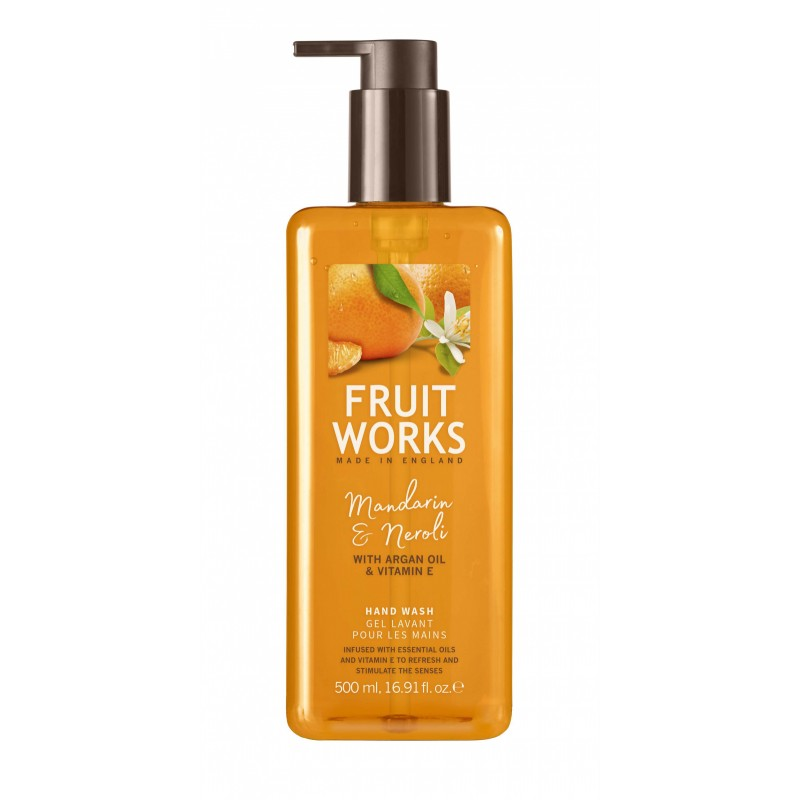 Fruit Works Mandarin & Neroli Hand Wash