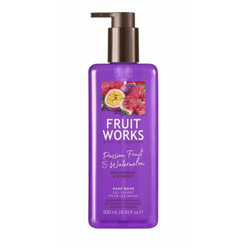 Fruit Works Passion Fruit & Watermelon Hand Wash