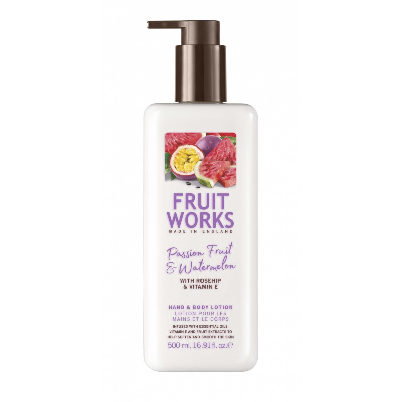 Fruit Works Passion Fruit & Watermelon Hand & Body Lotion