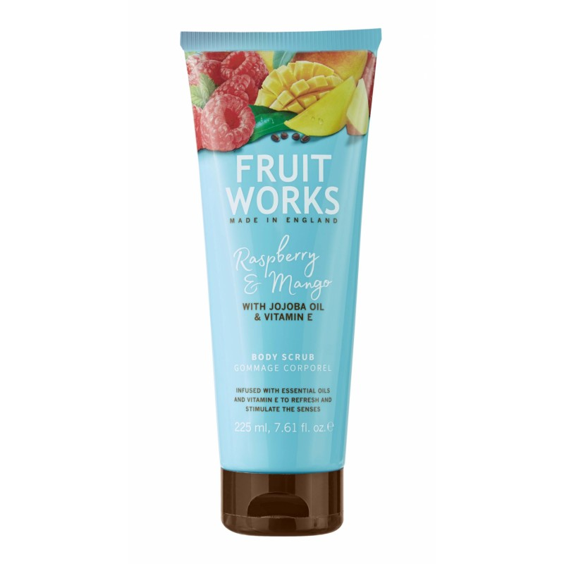 Grace Cole Fruit Works Raspberry & Mango Body Scrub