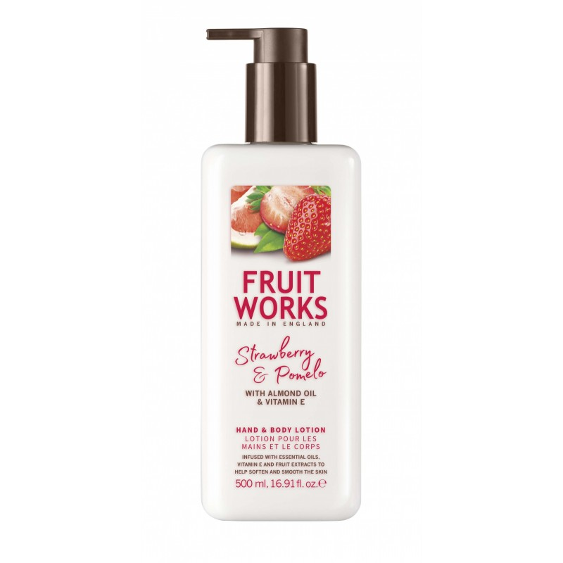 Grace Cole Fruit Works Strawberry & Pomelo Hand & Body Lotion