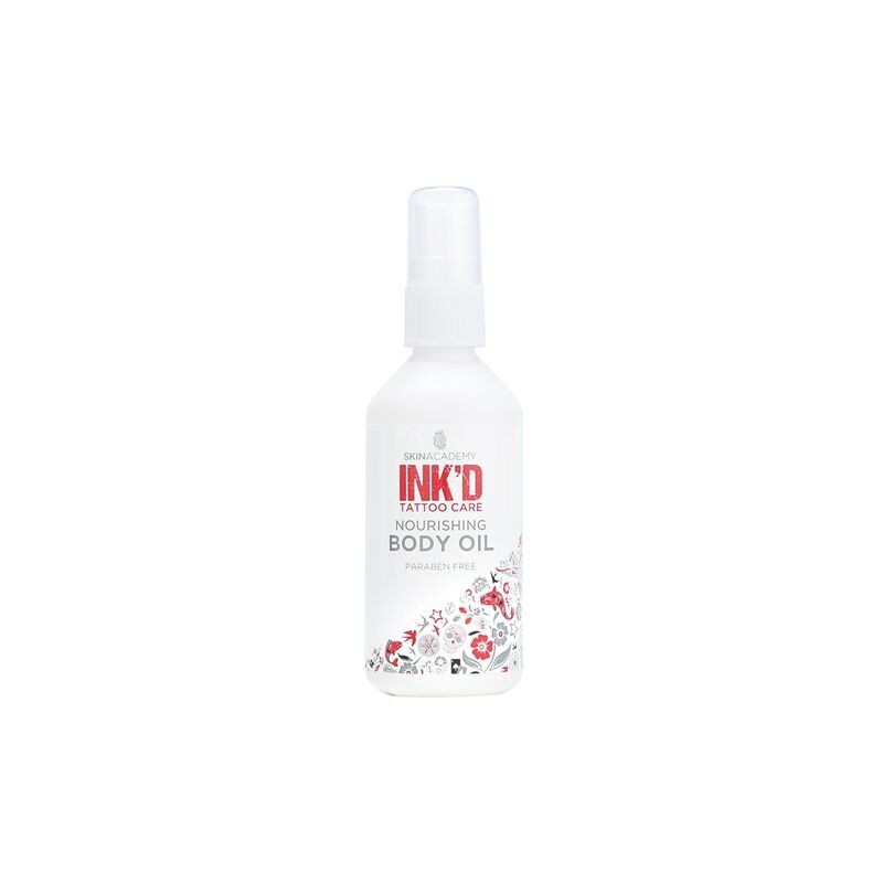 Skin Academy INK'D Tattoo Care Nourishing Body Oil