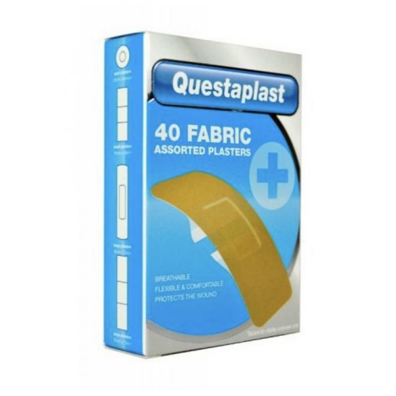 Questaplast Assorted Fabric Plasters