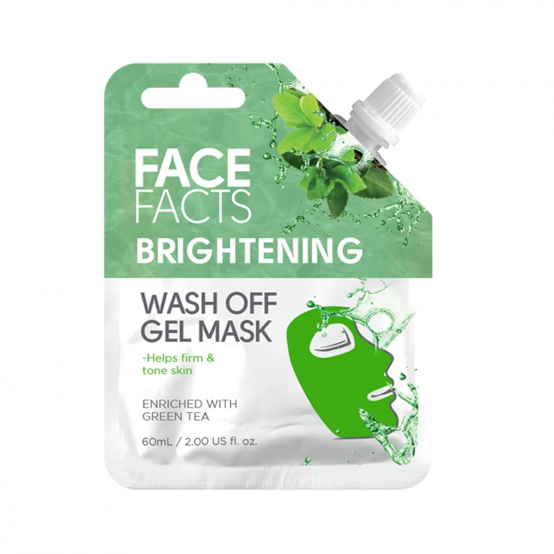 Face Facts Brightening Wash Off Gel Mask