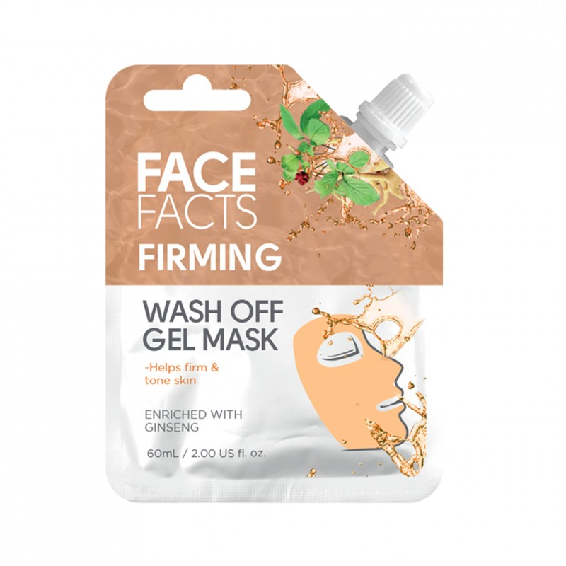 Face Facts Firming Wash Off Gel Mask