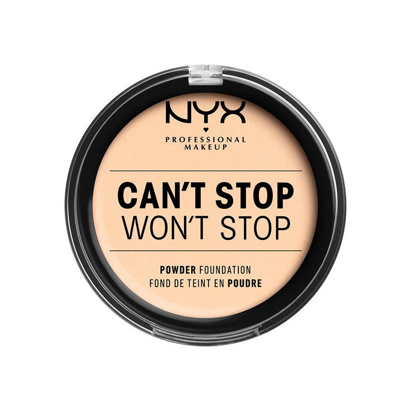 NYX Can't Stop Won't Stop Powder Foundation Pale