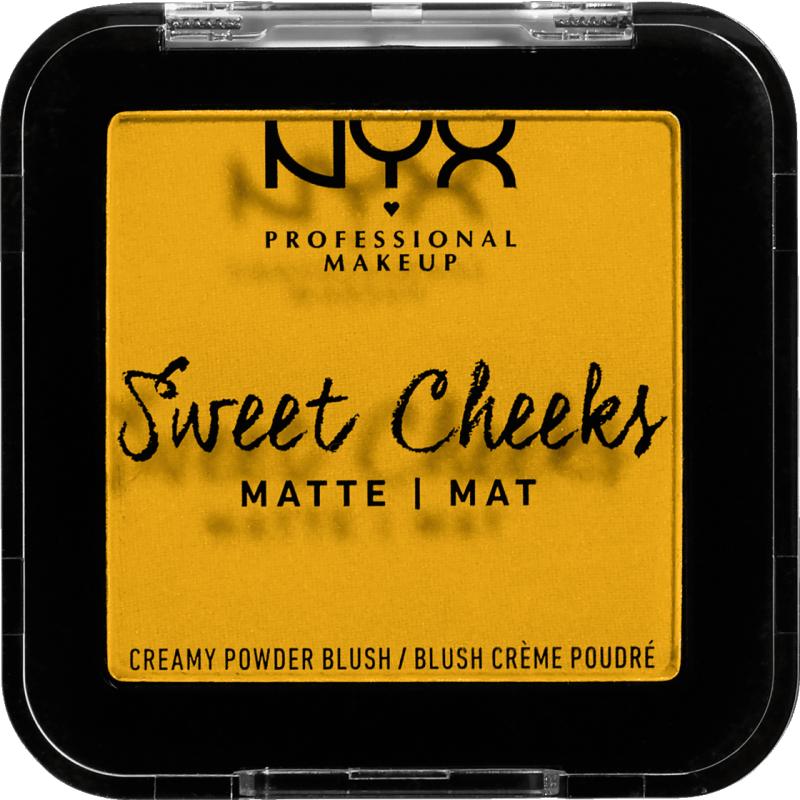 NYX Sweet Cheeks Matte Blush Silence Is Golden