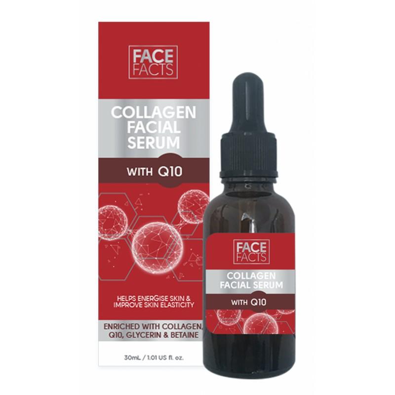 Face Facts Collagen Q10 Facial Serum