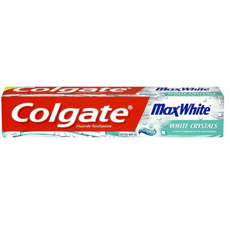 Colgate Max White White Crystals