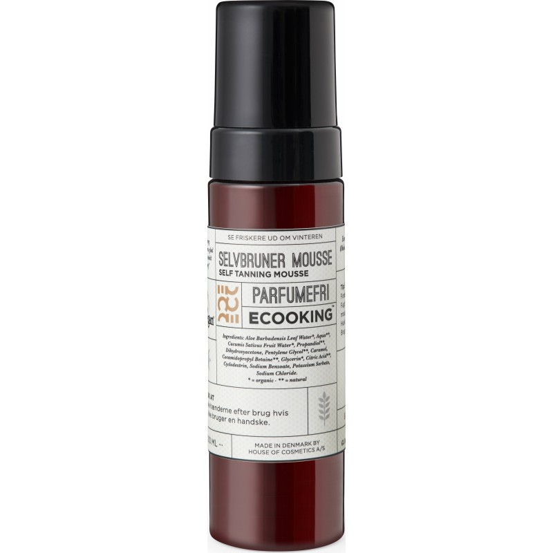Ecooking Self Tanning Mousse Fragrance Free