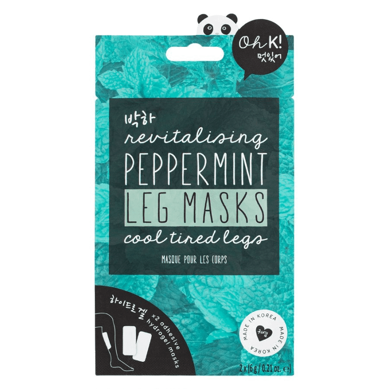Oh K! Revitalising Peppermint Leg Mask