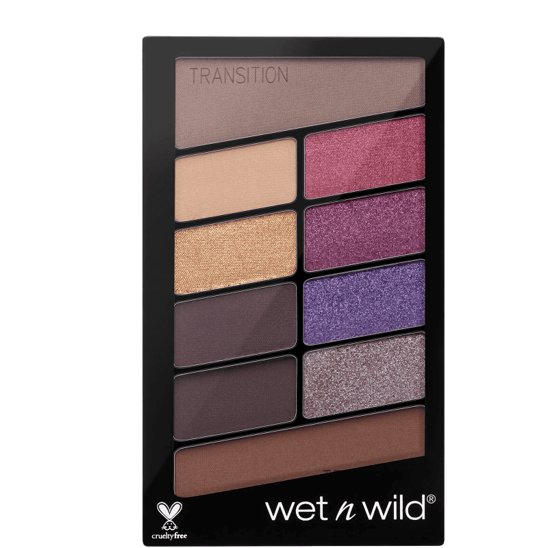 Wet 'n Wild Color Icon Eyeshadow 10 Pan Palette V.I.Purple