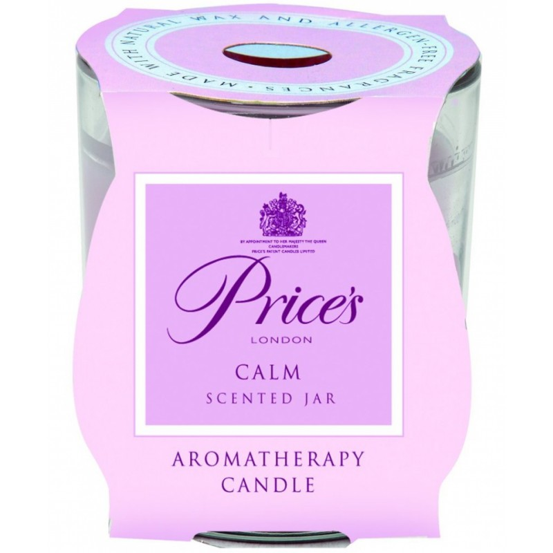 Price's Scented Candle Jar Calm