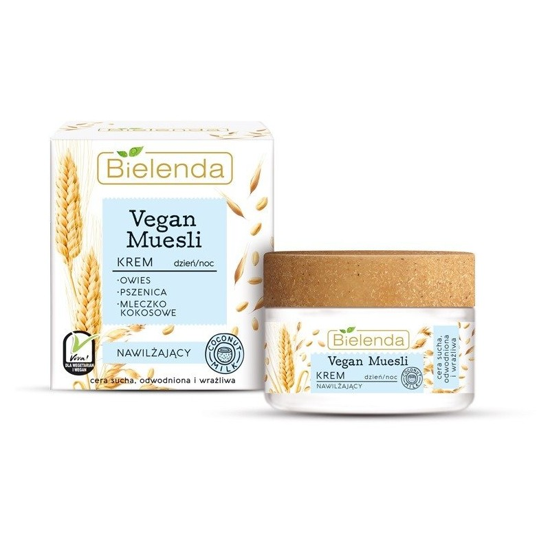 Bielenda Vegan Muesli Moisturizing Cream For Day & Night