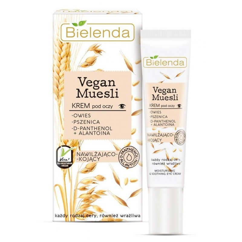Bielenda Vegan Muesli Moisturizing & Soothing Eye Cream
