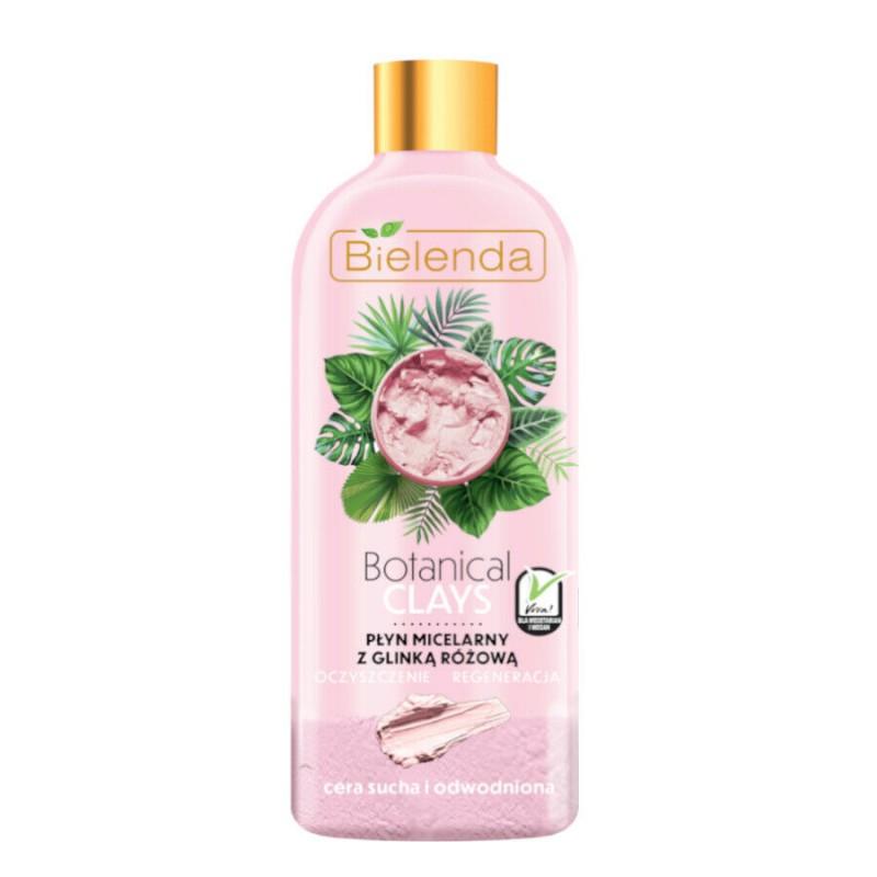 Bielenda Botanical Clays Vegan Micellar Liquid Pink Clay