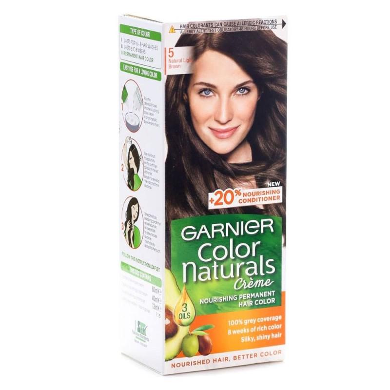 Garnier Color Naturals 5 Natural Light Brown