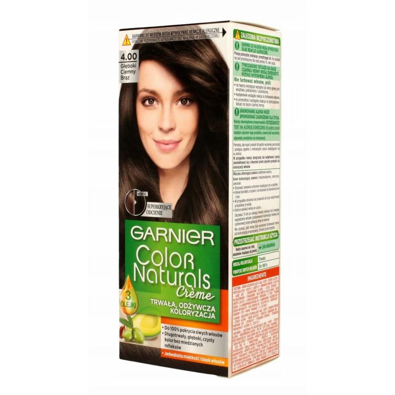 Garnier Garnier Color Naturals 4.00 Dark Brown