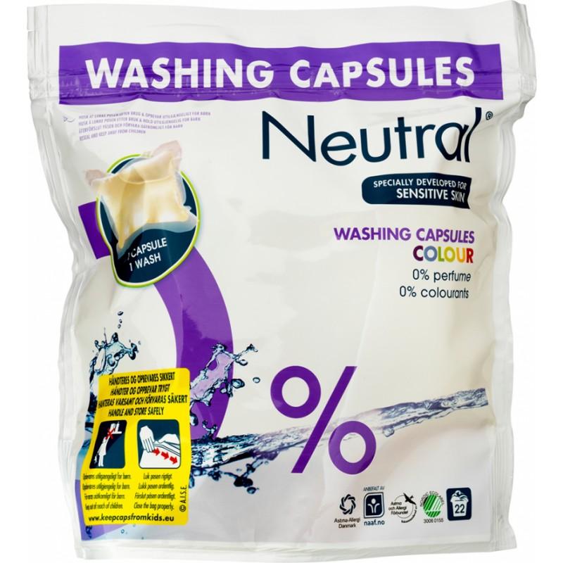 Neutral Wash Caps Color