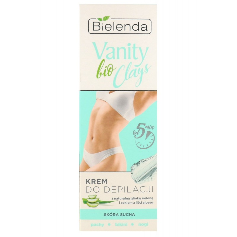 Bielenda Vanity Bio Clay Natural Green Clay Hair Removal Cream