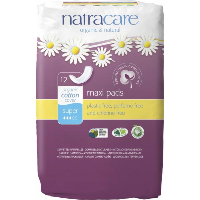 NatraCare Maxi Pads Super