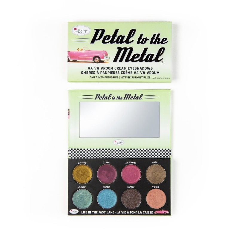 The Balm Petal To The Metal Overdrive Eyeshadow Palette