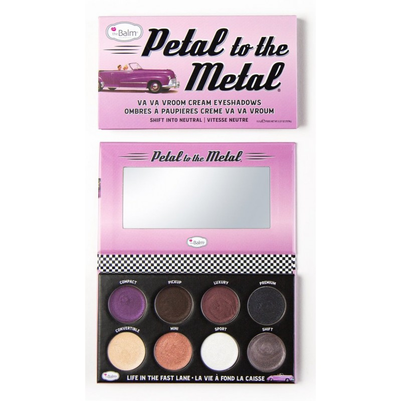 The Balm Petal To The Metal Neutral Eyeshadow Palette