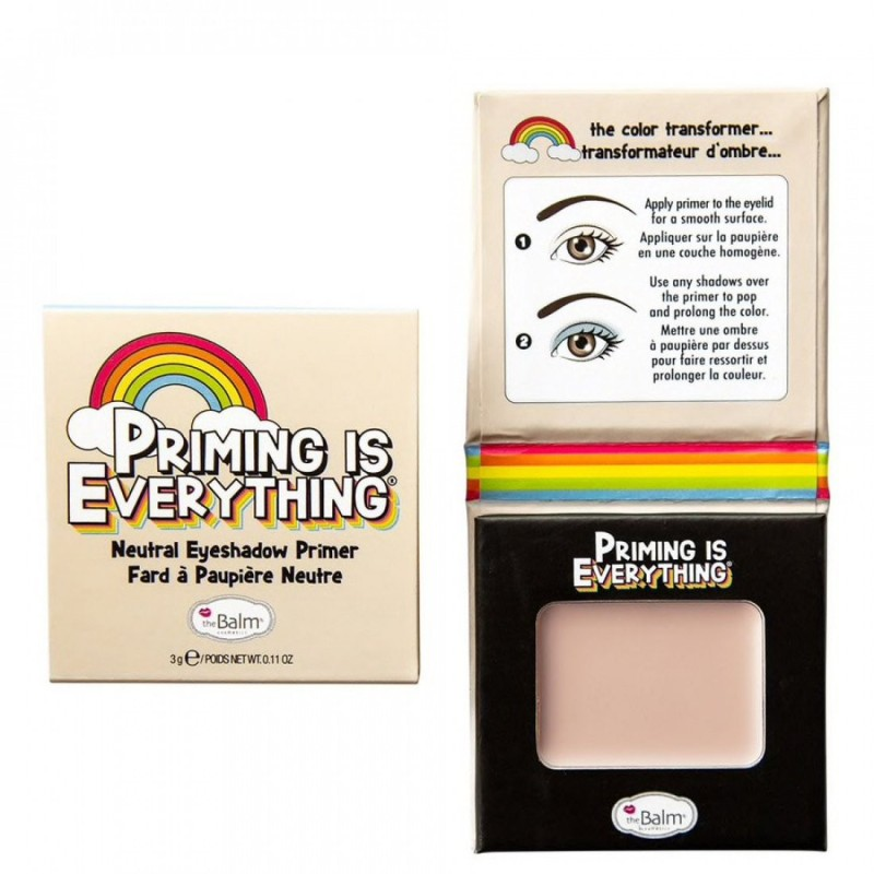 The Balm Priming is Everything Eyeshadow Primer Neutral