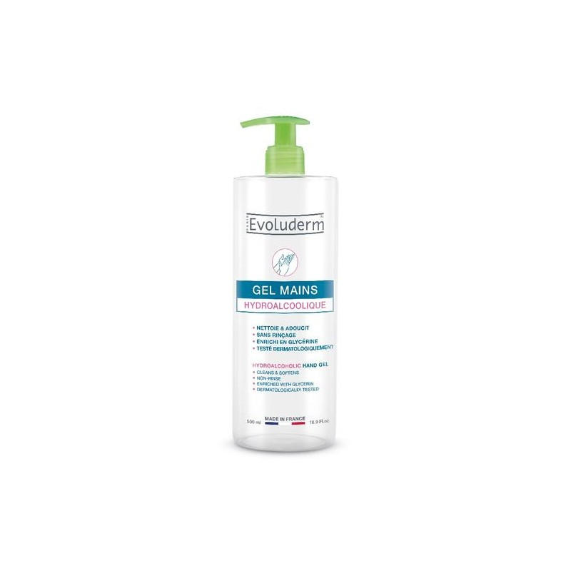 Evoluderm Hydroalcoholic Hand Gel