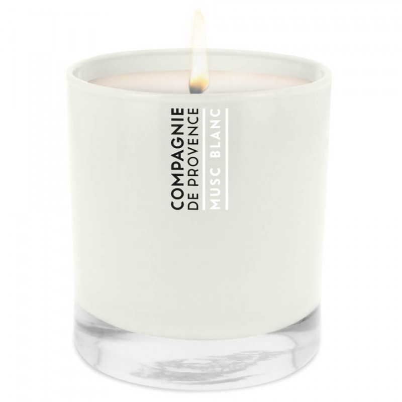 Compagnie De Provence  Maison Scented Candle White Musk