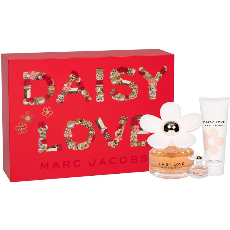 Marc Jacobs Daisy Love EDT & EDT Mini & Body Lotion