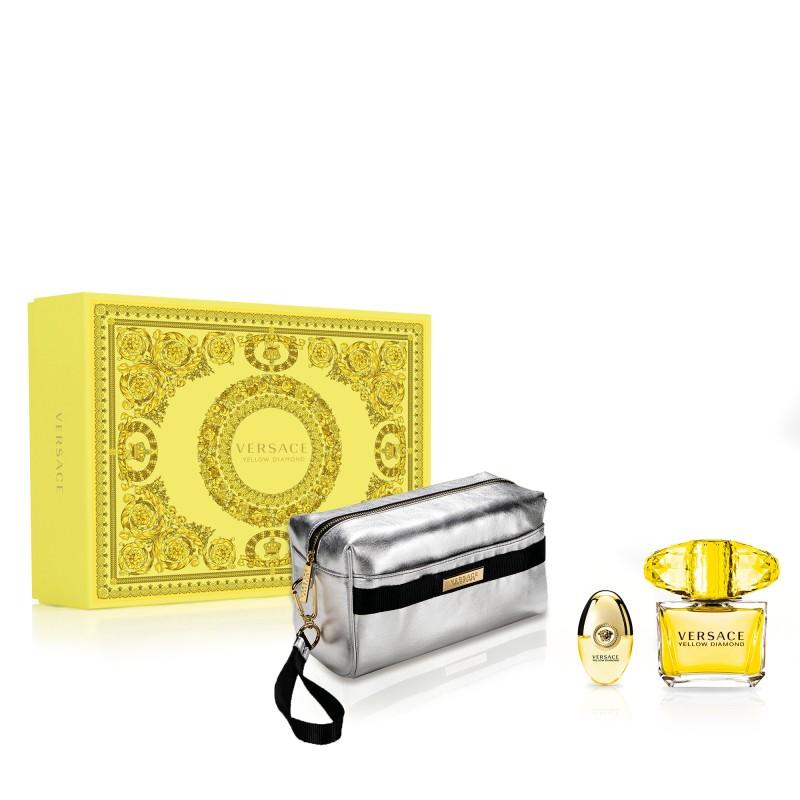 Versace Yellow Diamond EDT & EDT Mini & Pouch
