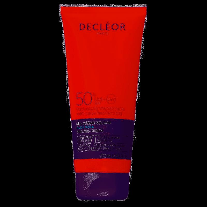 Decleor Sun Gel-Cream Aloe Vera SPF50+