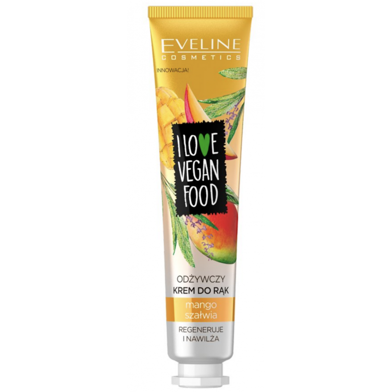 Eveline I Love Vegan Food Nourishing Hand Cream