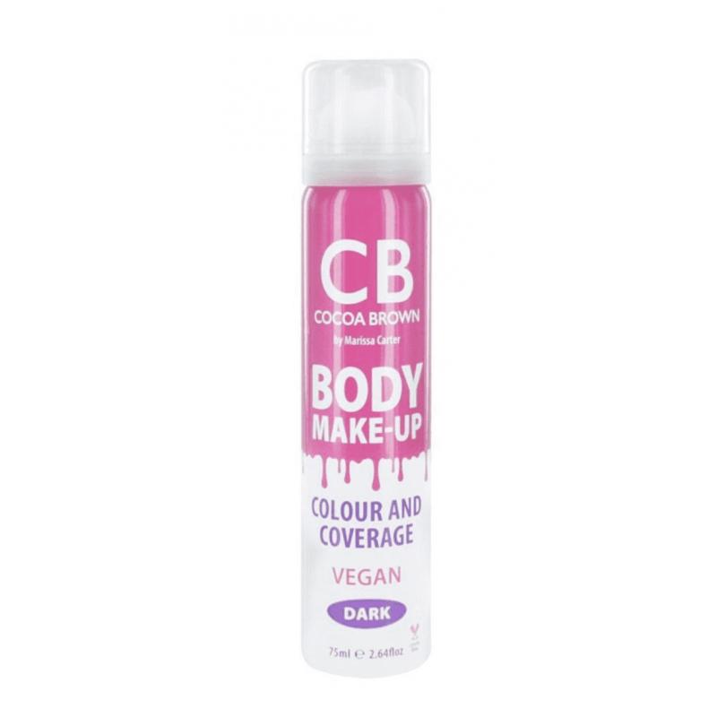 Cocoa Brown Body Make-Up Vegan Colour & Coverage Dark