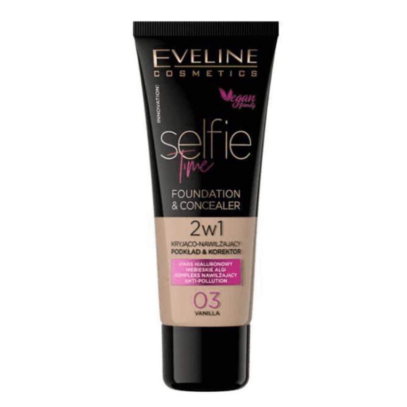 Eveline Selfie Time Foundation & Concealer 03 Vanilla