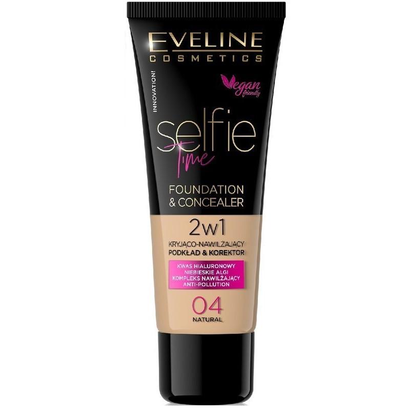 Eveline Selfie Time Foundation & Concealer 04 Natural