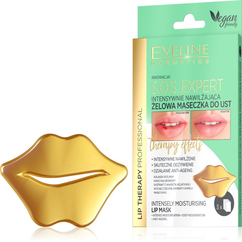 Eveline Lip Therapy Moisturising Lip Mask
