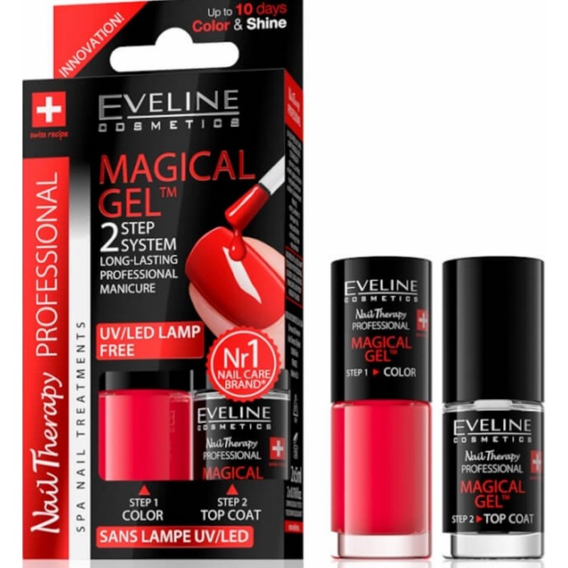 Eveline Spa Nail Therapy Magical Gel No. 7