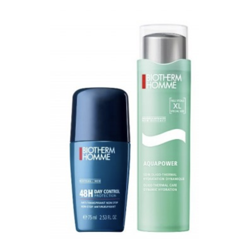 Biotherm Homme Aquapower Gel & Deo Roll On Set