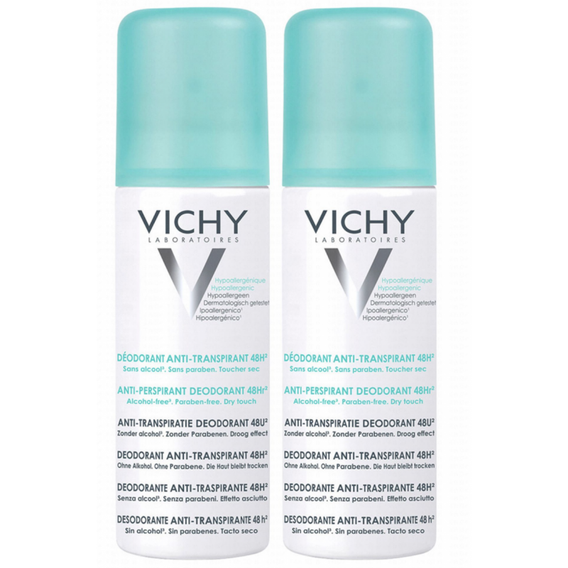 Vichy 48h Antiperspirant Deospray Duo