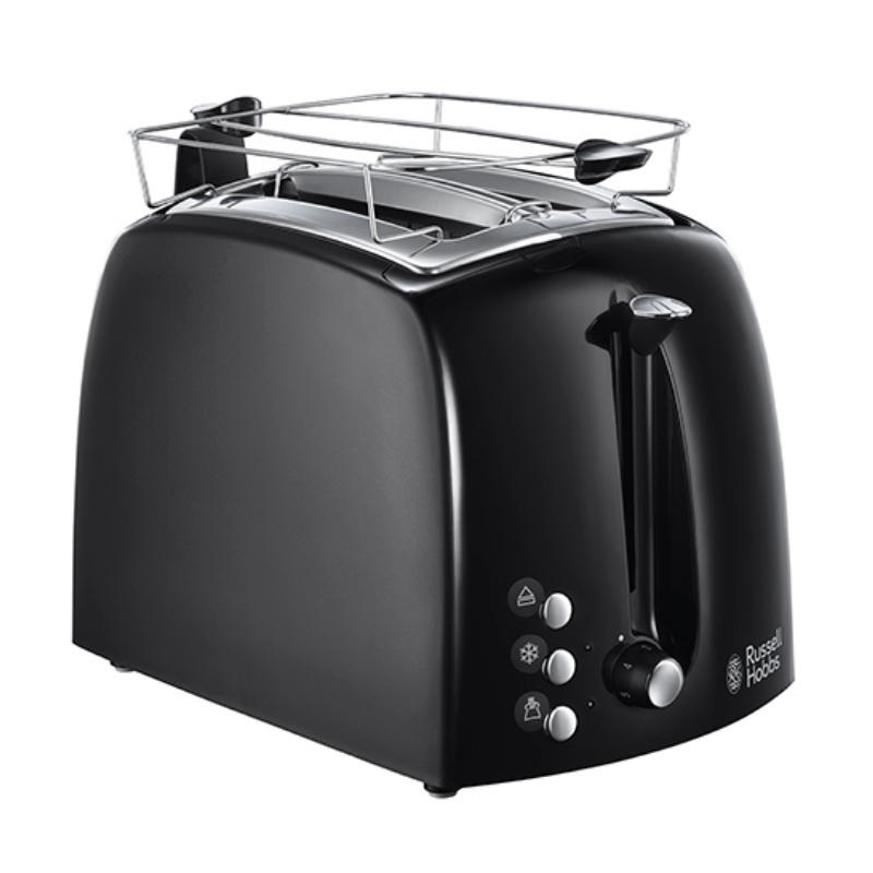 Russell Hobbs 22601-56 Textures Plus Toaster Black