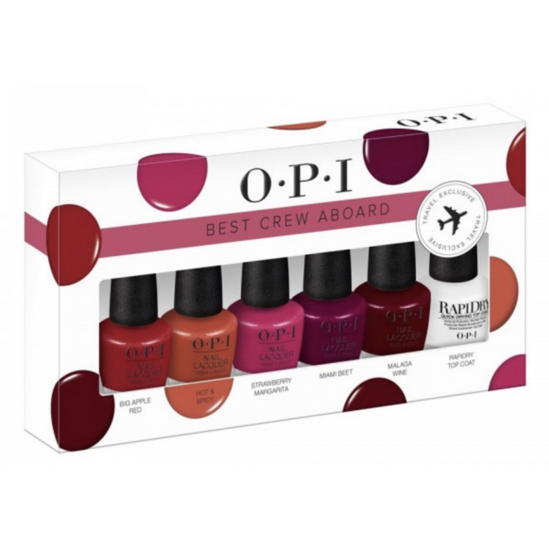 OPI Best Crew Aboard Nail Polish Set