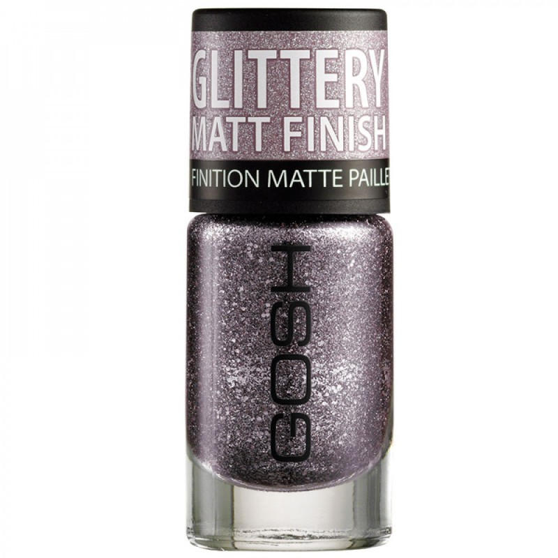 GOSH Frosted Nail Lacquer 03 Frosted Purple